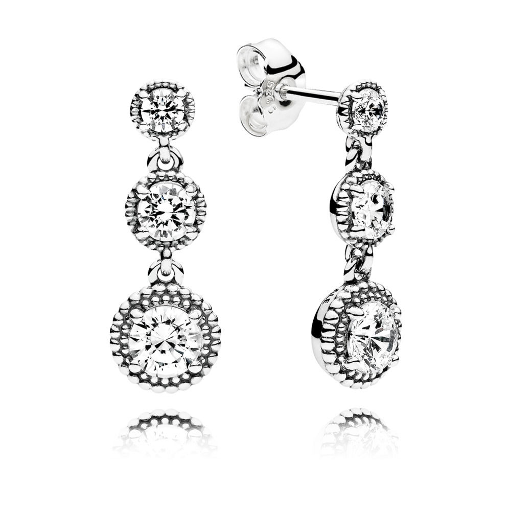 Pandora Bijoux Eternal Elegant Earrings