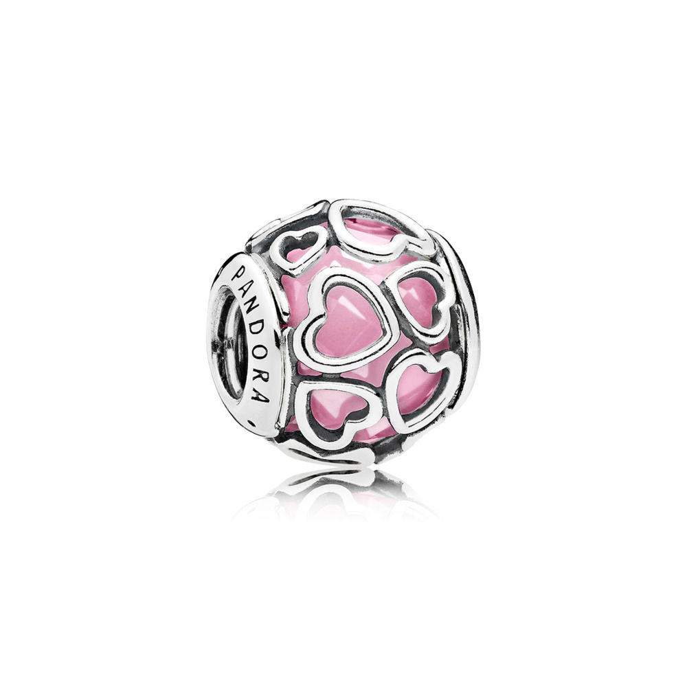 Pandora Bijoux Pink Wrapped in Love