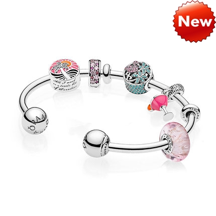 Pandora Bijoux Passion Summer Open Bracelet String Gift Sets