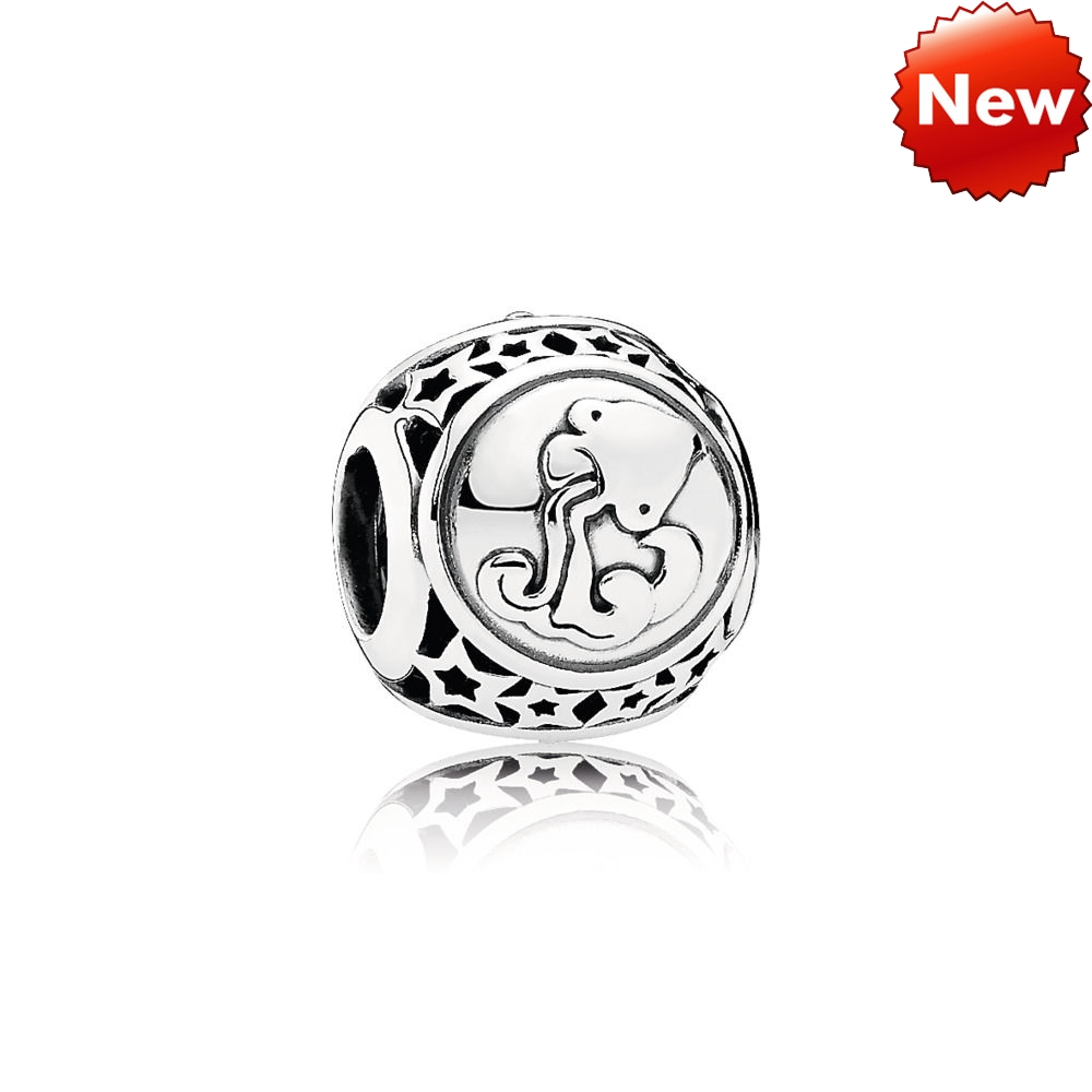 Pandora Bijoux STAR SIGN SILVER CHARMA AQUARIUS