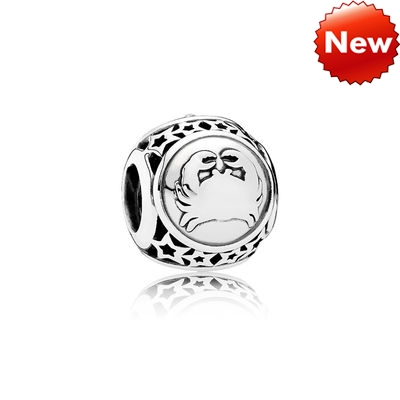 Pandora Bijoux STAR SIGN SILVER CHARMA CANCER