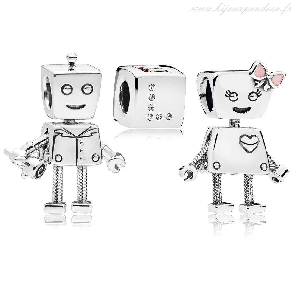 Pandora Bijoux Bella and Rob Forever Charm Pack