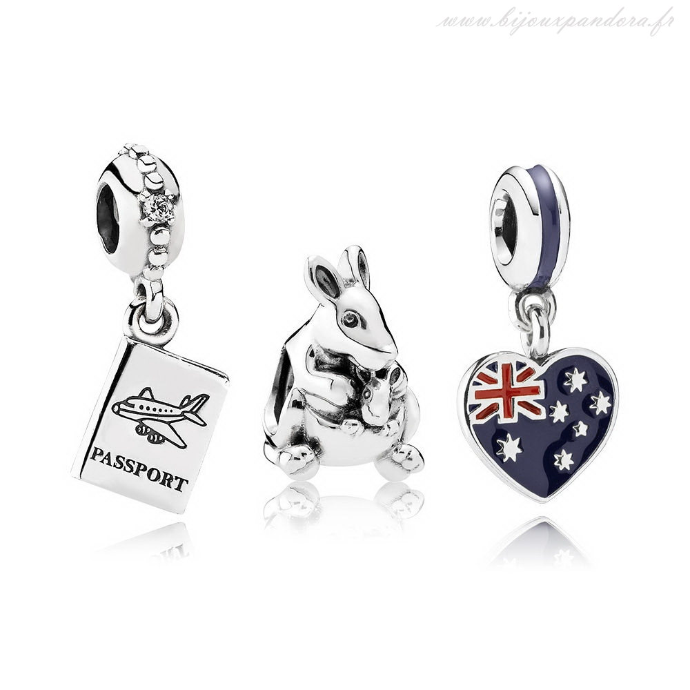 Pandora Bijoux Escape to Australia Charm Ensemble