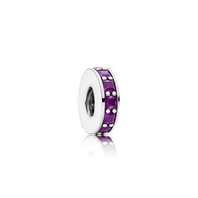 Pandora Bijoux Eternity avec Royal Purple Cristal Spacer