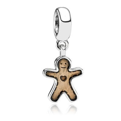Pandora Bijoux Gingerbread Man Charms