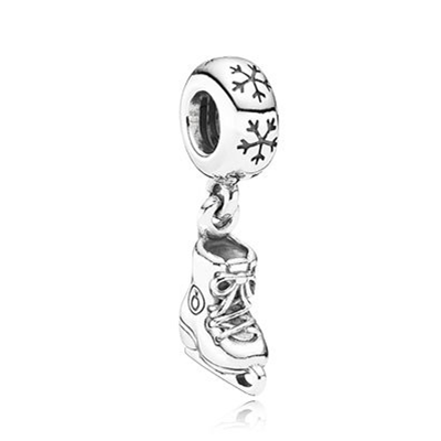 Pandora Bijoux Patin a glace Dangle Charm