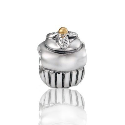 Pandora Bijoux Perles Charms Confused Two Tone