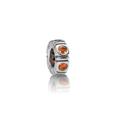 Pandora Bijoux orange Spacer Trinity