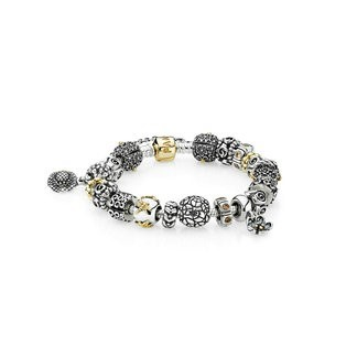 Pandora Bijoux (FT3247) Peaceful Garden Inspirational Bracelet