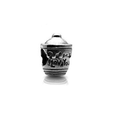 Pandora Bijoux I Love You Coupe d'argent Charm Sterling