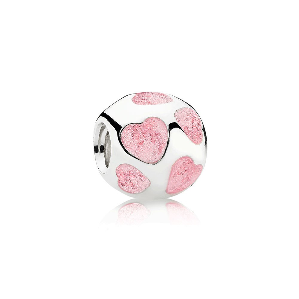 Pandora Bijoux Love you, Charm email rose