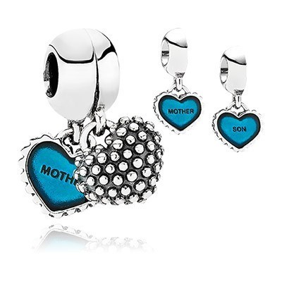 Pandora Bijoux Piece Of My Heart Charms