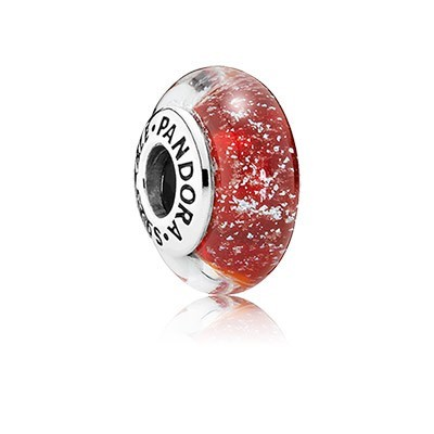 Pandora Bijoux Signature de Disney Murano Snow White Couleur