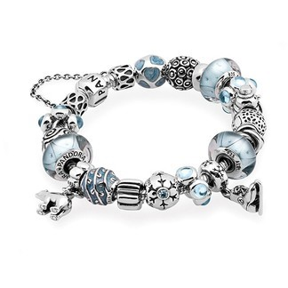 Pandora Bijoux (VA7478) Let It Snow Inspirational Bracelet